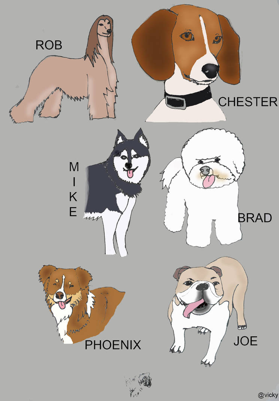 Linkin Dog by vickymyo