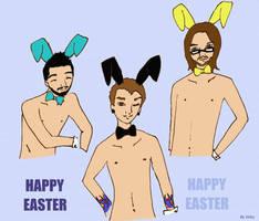 Happy Easter by vickymyo