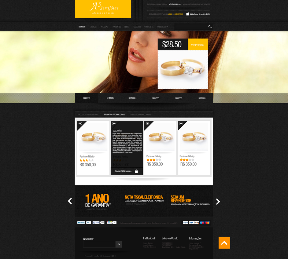 Ecommerce - A5 by gbwebdesigner