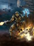Halo: Combat Evolved Fan Art