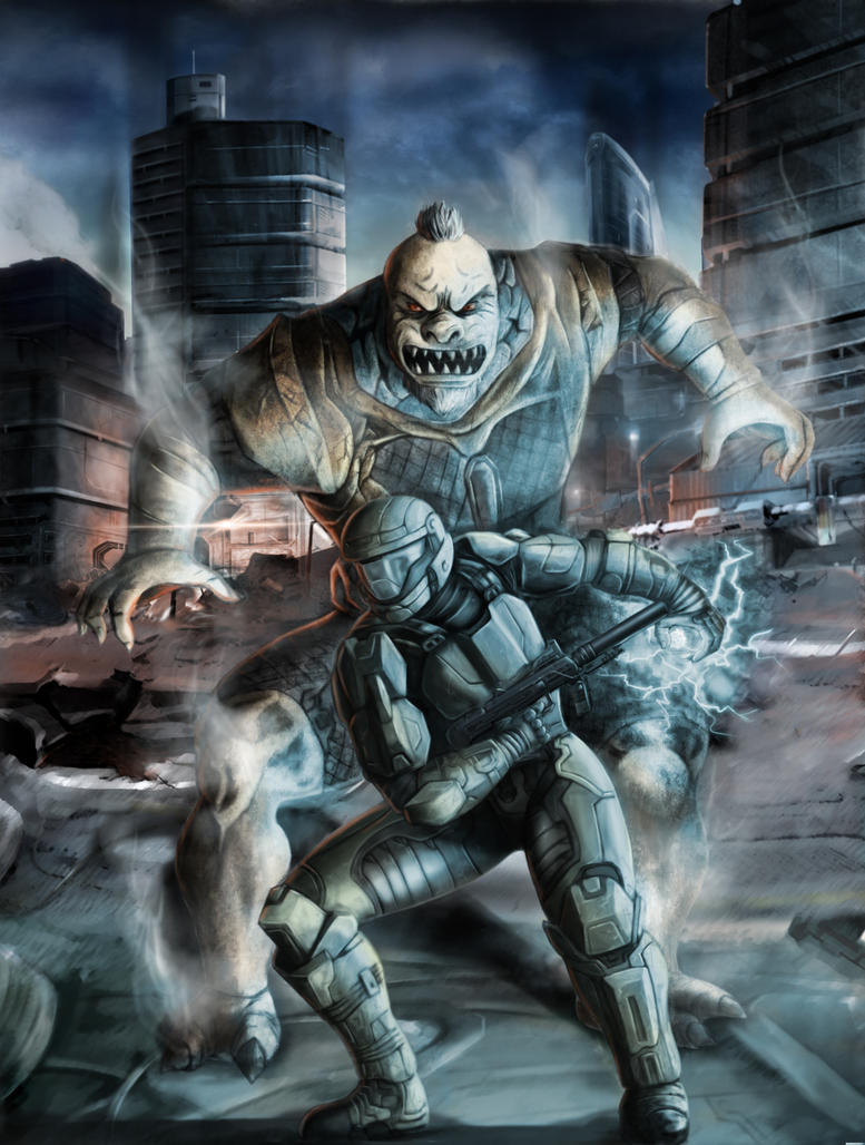 Halo 3 ODST Fan Art by Geocross
