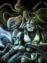 Halo 2 Fan Art by Geocross