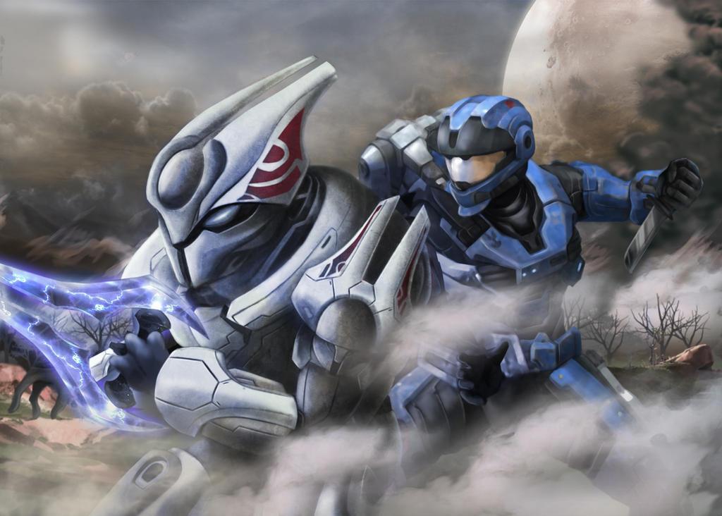 Halo Reach Fan Art by Geocross
