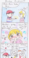 Mother 1 Comic-Ninten Proposes by CourierBell