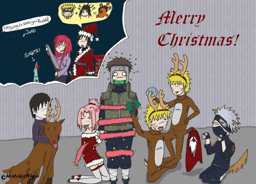 Narutarded Christmas By Hatakeniwa On Deviantart
