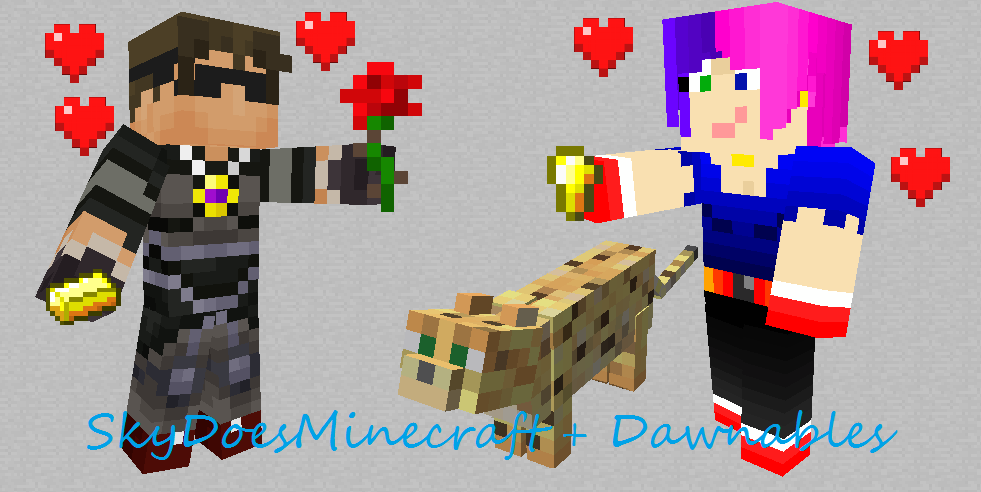 SkyDoesMinecraft and Dawnables by browr98 on DeviantArt Skydoesminecraft And Dawnables