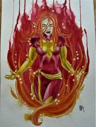 Dark Phoenix by NicoleHansche