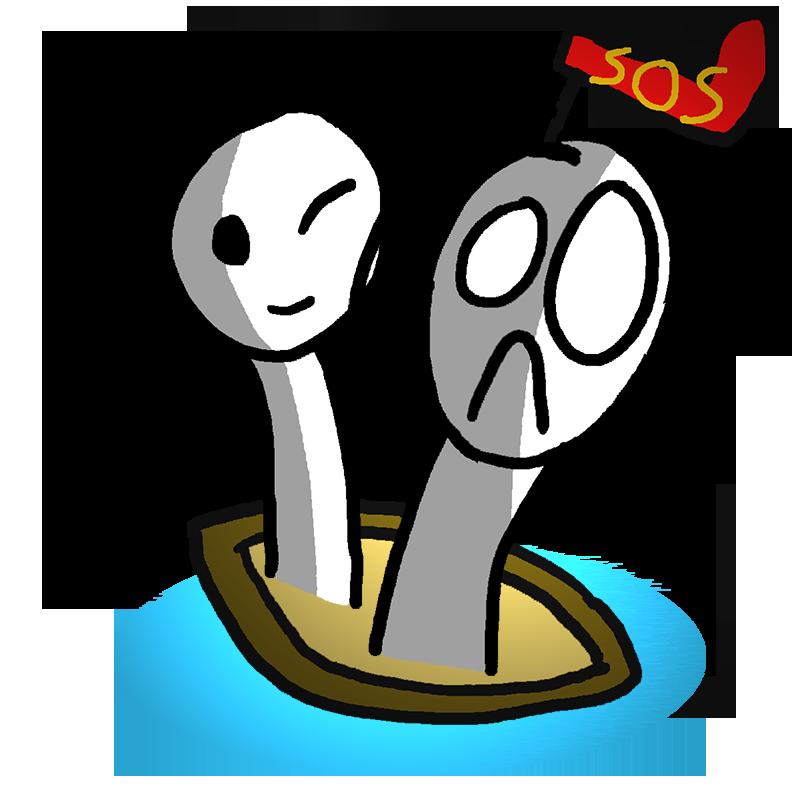 SOS-boat by Justware