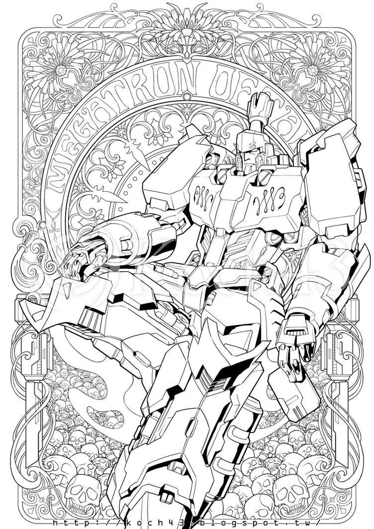 Poster Ink, Megatron (20150713) by koch43