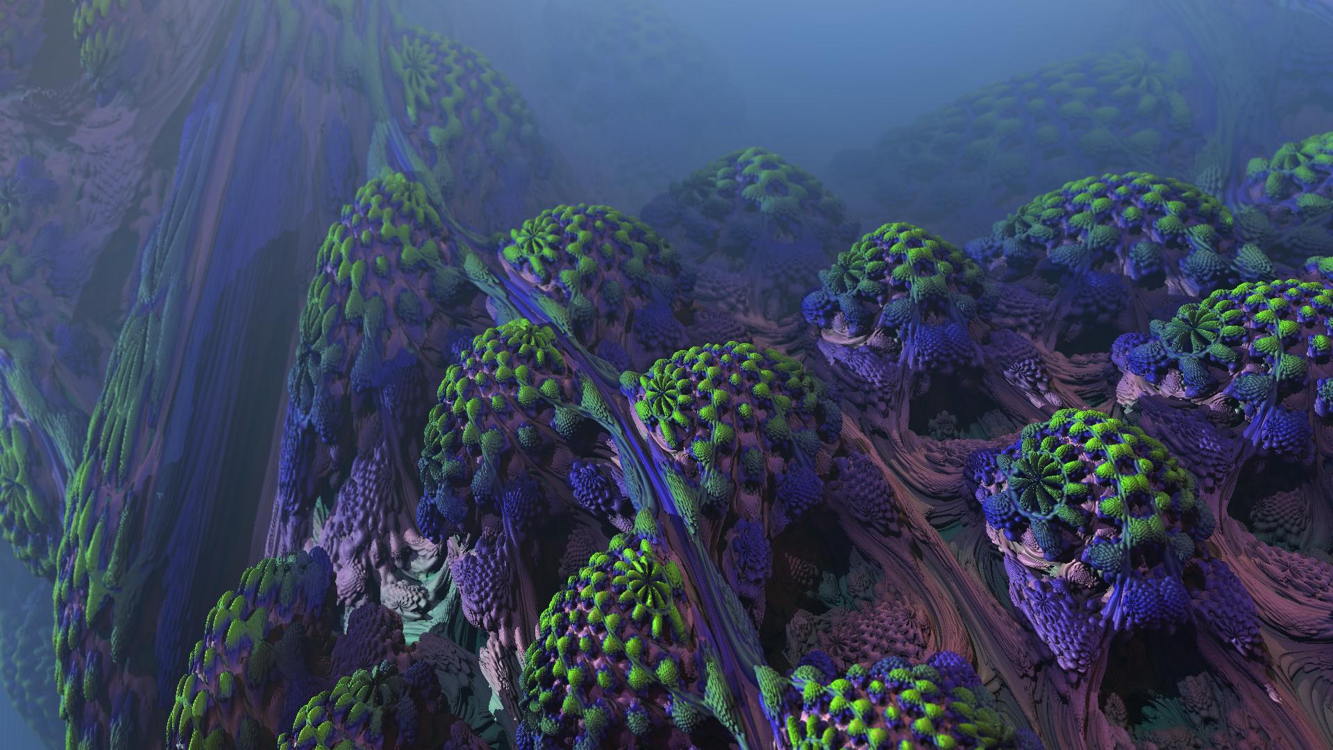 Fractal Wurmulon Ecosystem by p0ss
