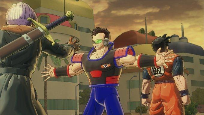 DragonBall Xenoverse screenshot: Stopped Trunks by MarnicSteve92