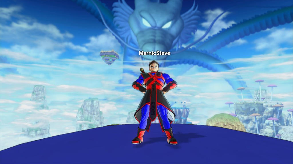 DragonBall Screenshot: My new outfit by MarnicSteve92