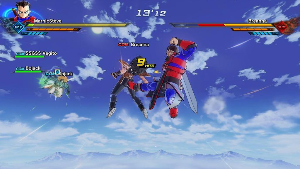 DragonBall Screenshot: A good kick by MarnicSteve92