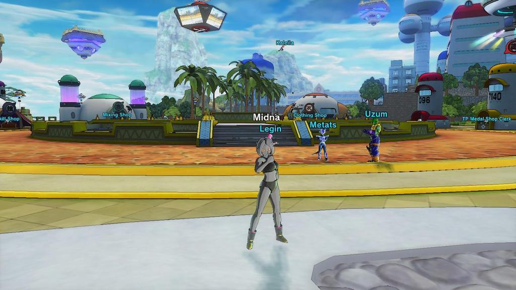 DragonBall Screenshot Midna The Majin by MarnicSteve92