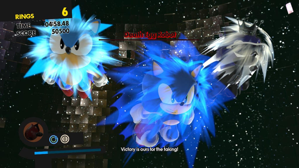 Sonic Forces screenshot 2 Triple Boost Finish by MarnicSteve92
