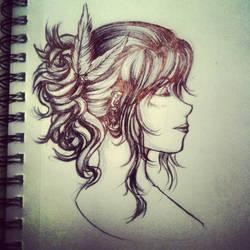 Pen Doodle by MissXuilan