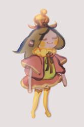 Princess jishin by irismuddy