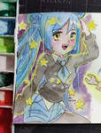 [ART TRADE] Twinkle twinkle stars by Jasmine-Kao
