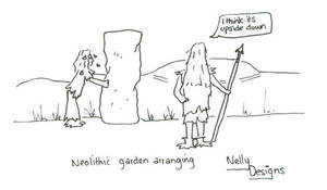Neolithic Gardening by NellyDesigns