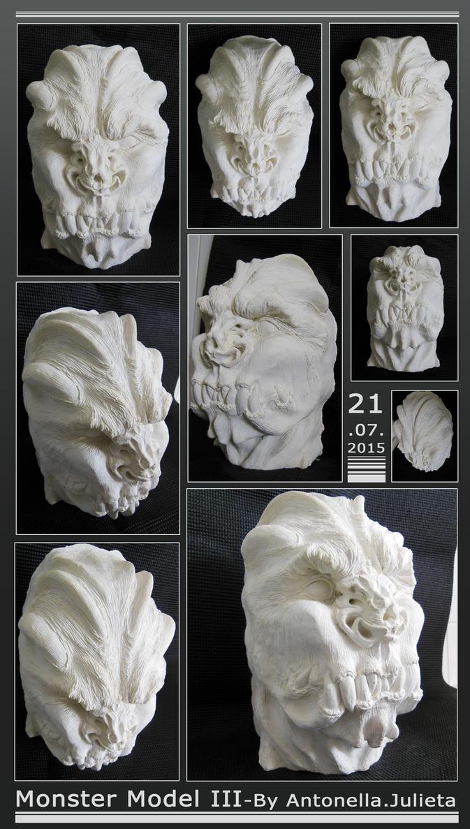 Monster Model III - by AntoNella by userantonella