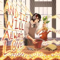BNHA X HARRY POTTER AU - Aizawa's Mandrake