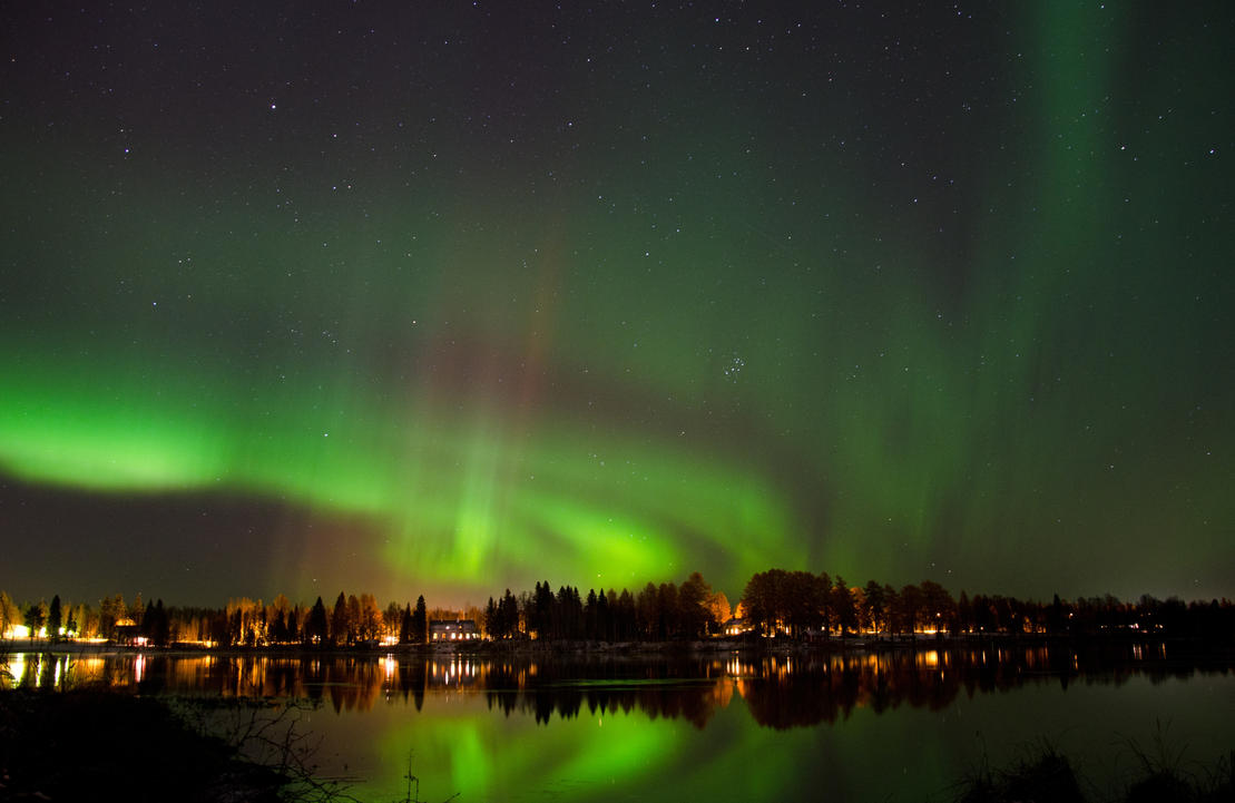 Aurora borealis 2 by FinJambo