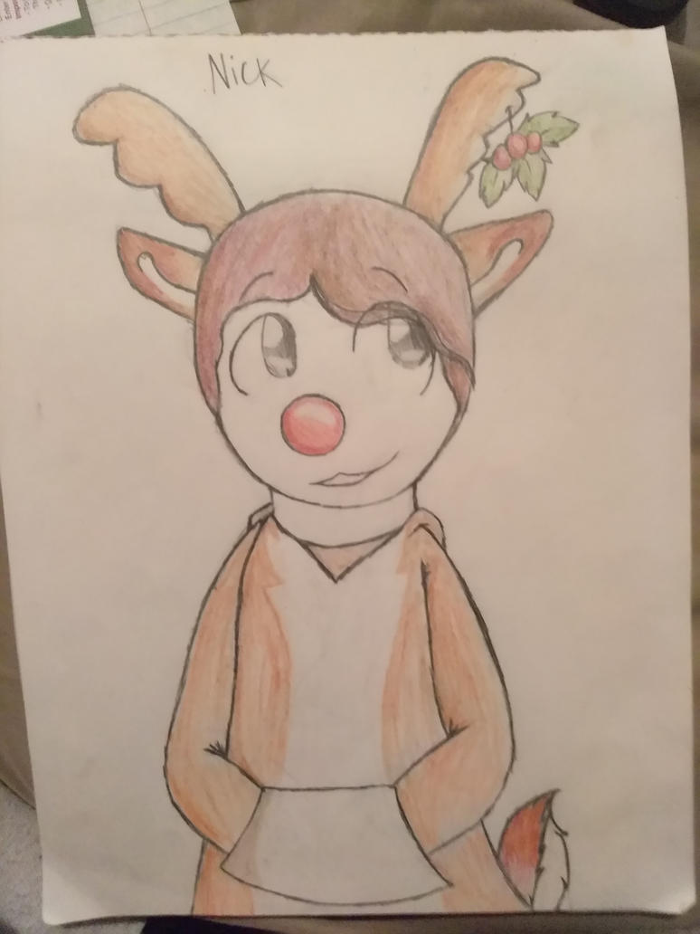 Reindeer Nick by Candyhouse408