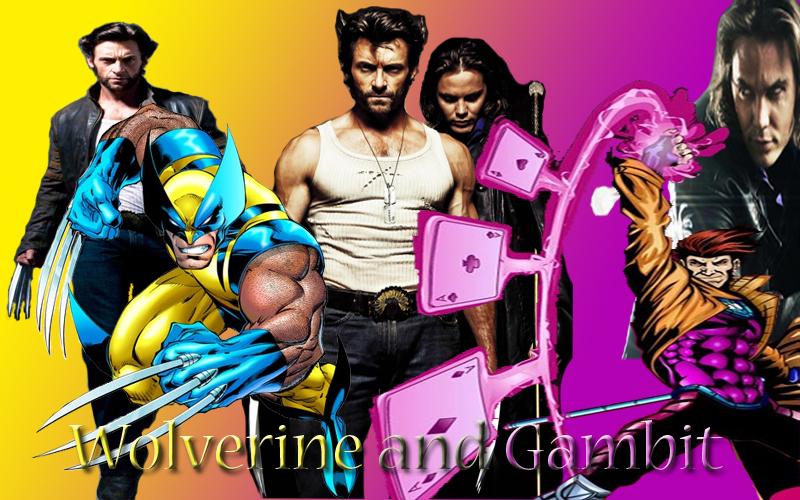 Gambit X Men Costume - wallpaper.