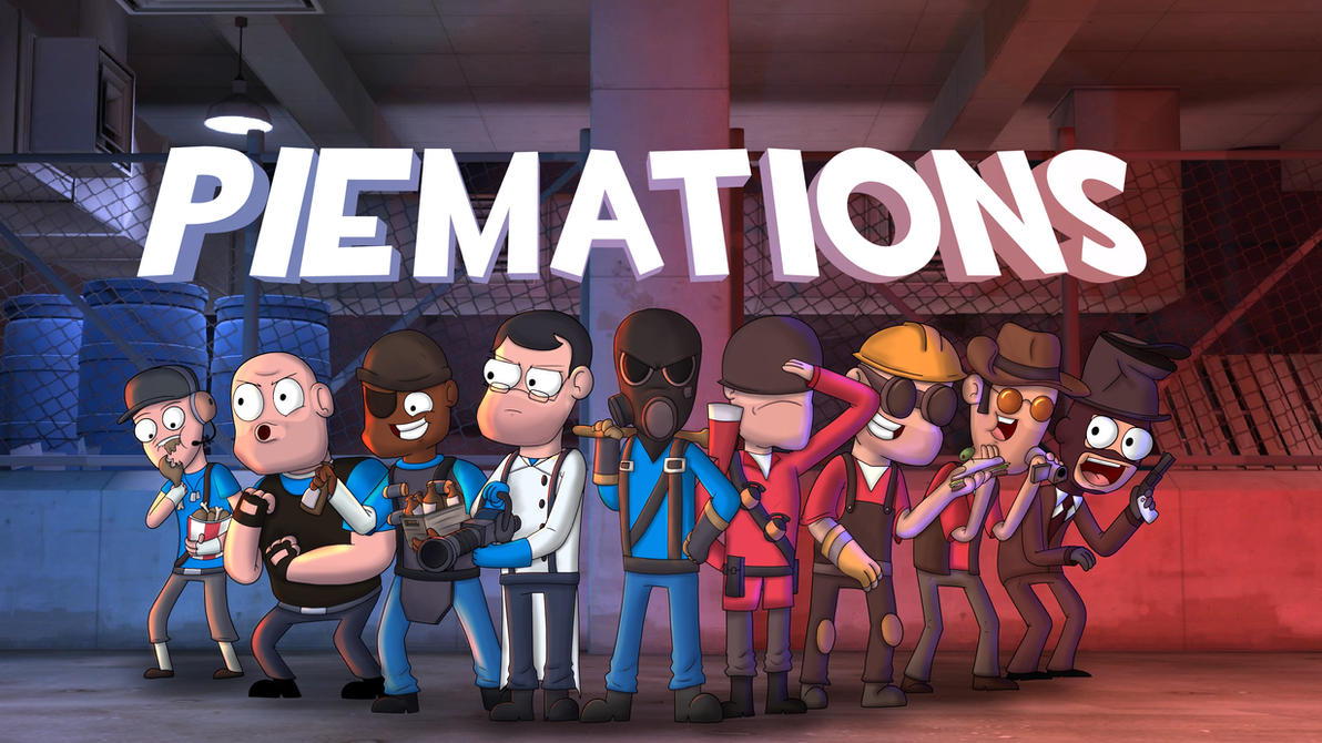 The Amazing Team (From Meet the Amazing Pyro) by PiemationsArt