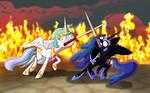 Ponies sword fighting can't look cool