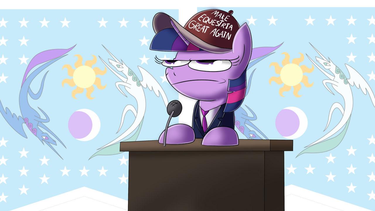 Twilight Sparkle for President