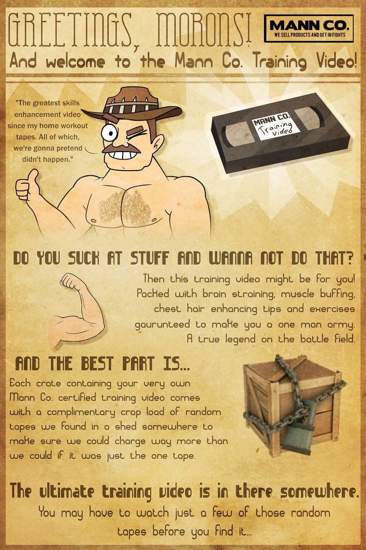 TF2 Tape Crate Poster by PiemationsArt