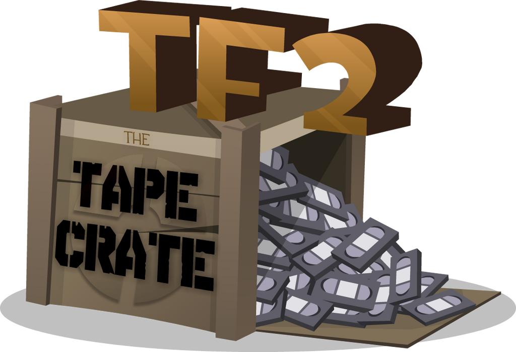 TF2 Tape Crate Logo by PiemationsArt