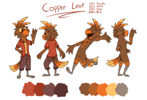 Copper Reference Sheet by PiemationsArt