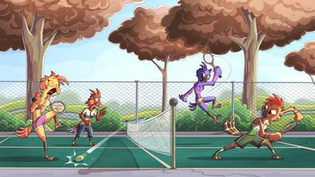 Bird Tennis