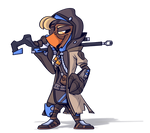 Pretzel but he's Ana