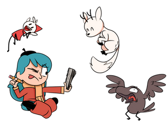 Hilda Drawings! by PiemationsArt