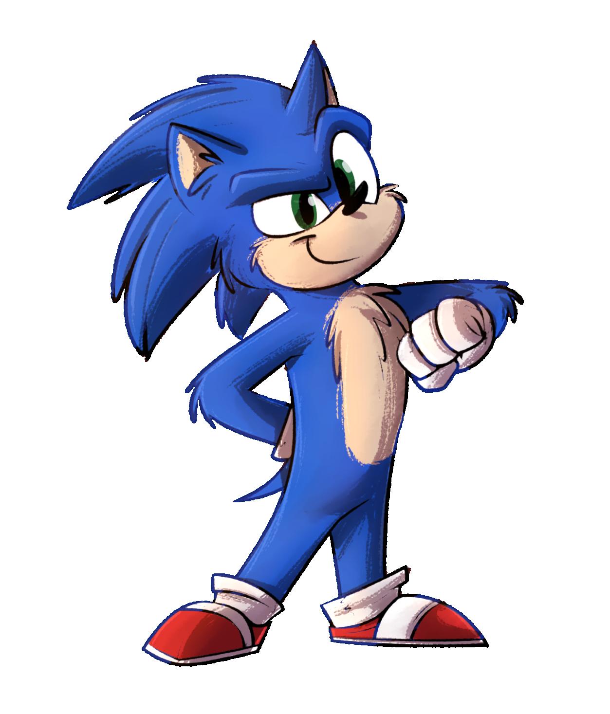 Movie Sonic 2 Baby By Piemationsart On Deviantart
