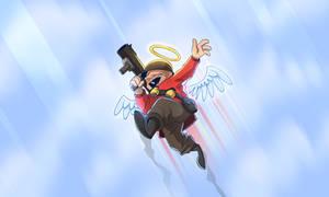 His Highest Rocket Jump