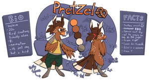 Pretzel Reference Sheet: The Ponytail is Now Canon