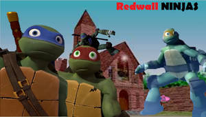 tmnt and redwall crossover: Redwall Ninjas