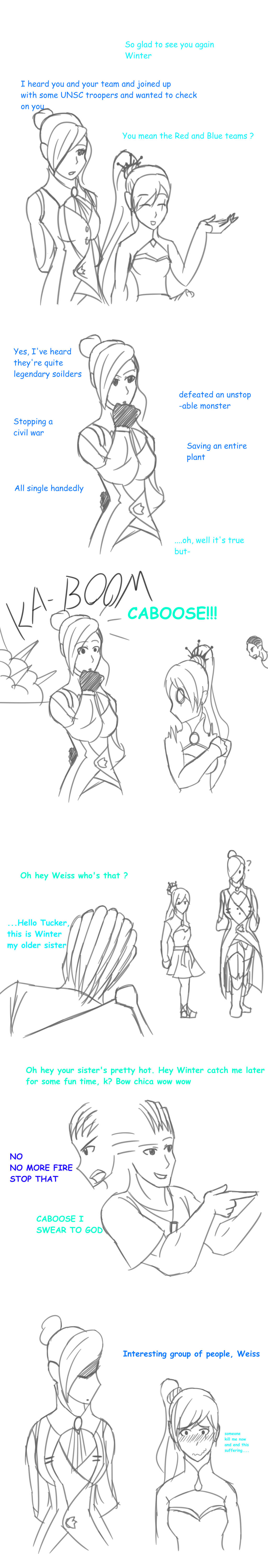 RvB/RWBY: Greetings by sketchingchaos