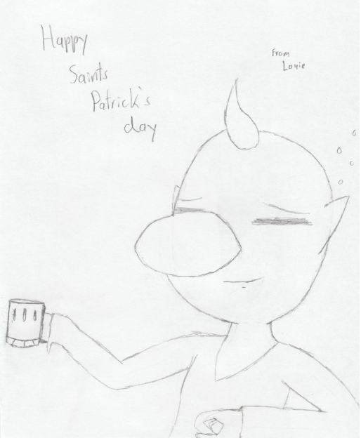 Happy Saint Patrick's Day (PiKmin) by TwistedHensley