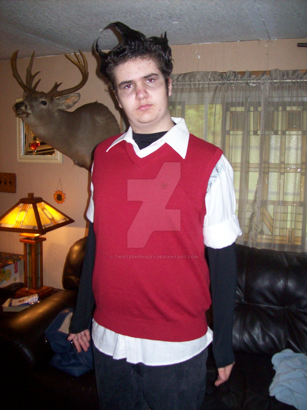 Don't Starve Wilson Cosplay 2013 Halloween Costume by TwistedHensley