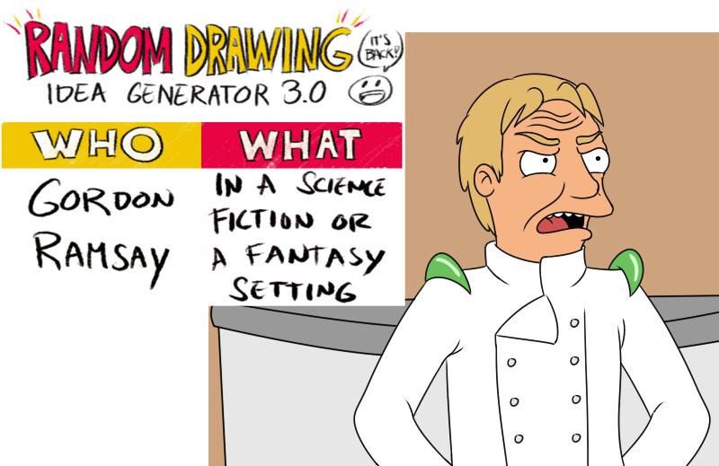 Random drawing idea 3 by kingavp on deviantart for Random sketch ideas