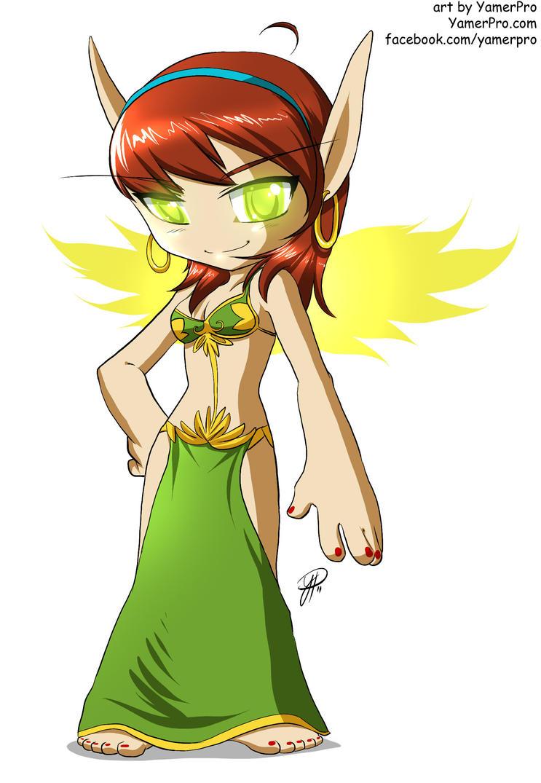 Chibi Blood Elf by Yamer by StarDragon77