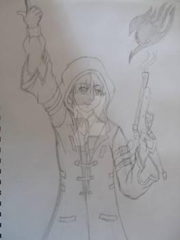 Sketch - Brian McCready - Fairy Tail is #1
