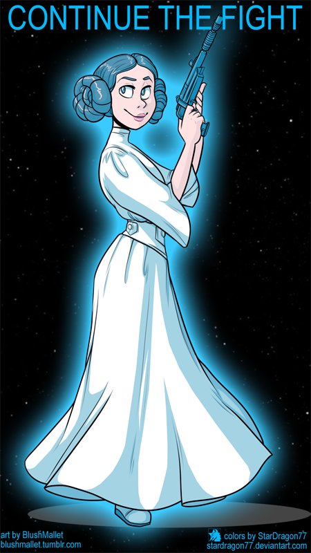 BlushMallet - Princess Leia Tribute by StarDragon77