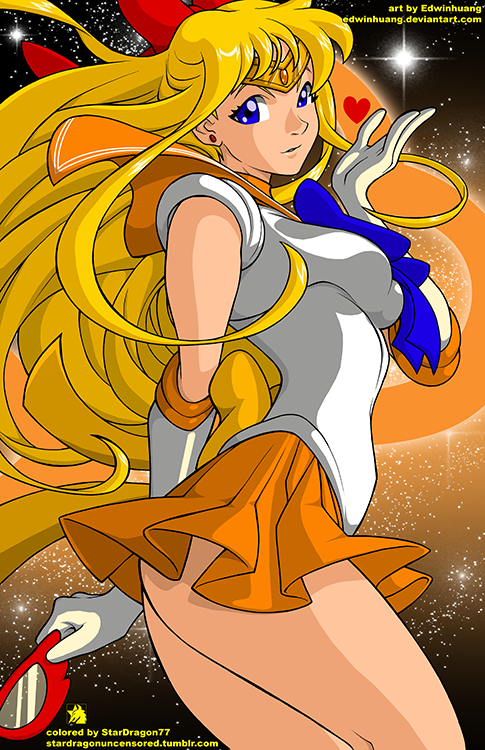 Edwinhuang - Sailor Venus Colored