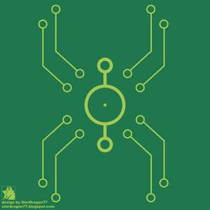 Spider-sona - Spider-Hacker Symbol